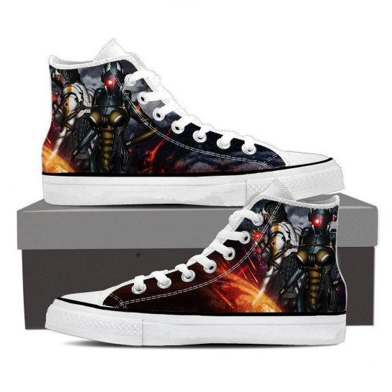 Mass Effect Cerberus Battle Armor Converse Sneaker Shoes
