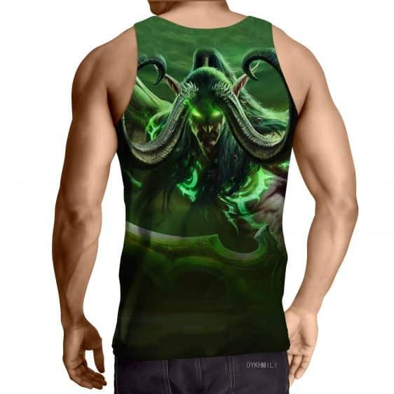 World of Warcraft Illidan Demon Hunter Elf Summer Tank Top