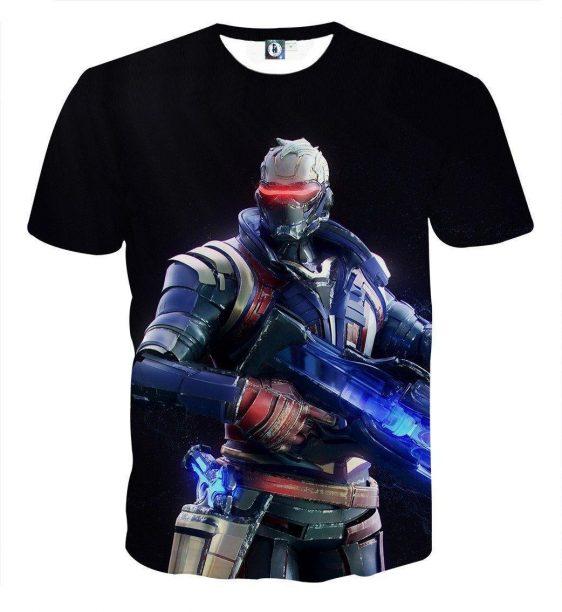 Overwatch Soldier 76 Jack Morrison Offense Class T-Shirt