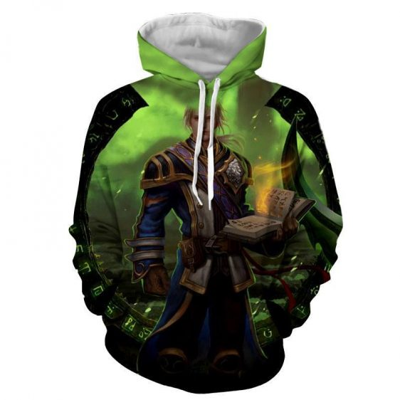 World of Warcraft Mage Character Artwork Cool Game Hoodie