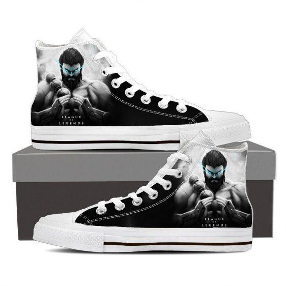League of Legends Udyr Spirit Walker 3D Printed Sneaker Converse Shoes