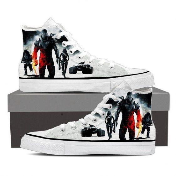 Mass Effect Collab Battlefield Converse Sneaker Shoes