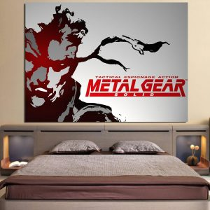 Metal Gear Tactical Espionage Artistic 1pc Canvas Print