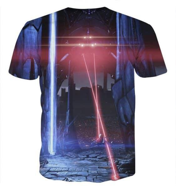 Mass Effect Reaper Laser War Machine Destruction T-shirt