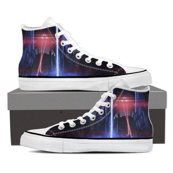 Mass Effect Reaper Laser War Machine Converse Sneaker Shoes