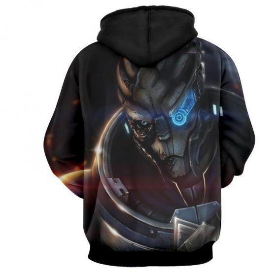 Mass Effect Vetra NYX Rider Squad Turian Portrait Hoodie