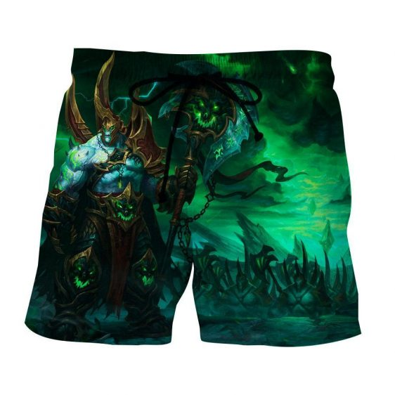 World of Warcraft Legion Fan Art Fighter Gaming Style Shorts