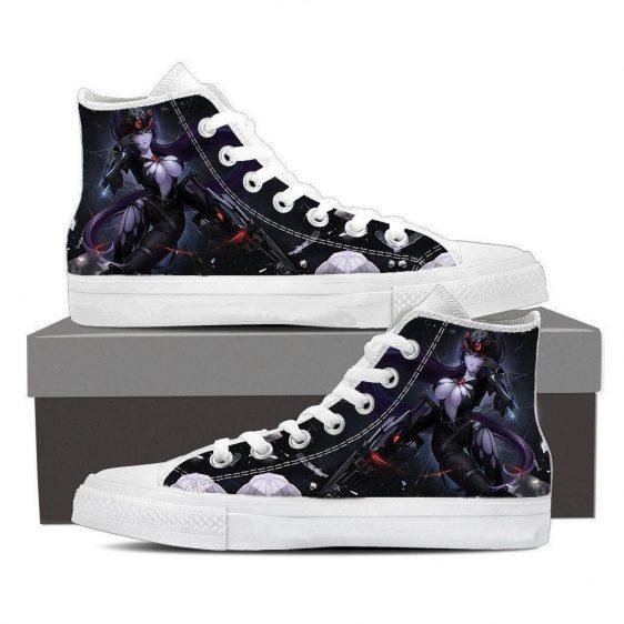 Overwatch Widowmaker Sexy Gunner Sneakers Converse Shoes