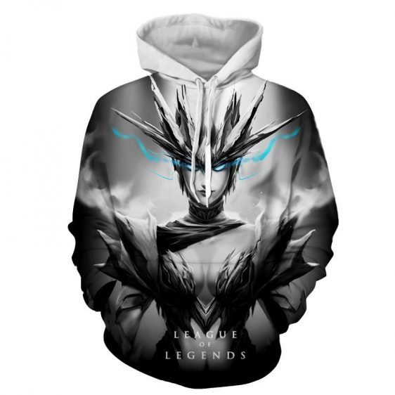 League of Legends Shyvana Female Fighter Full Printed Hoodie