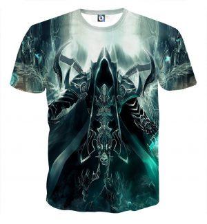 Diablo 3 Reaper of Soul Mathael Death Angel Game T-Shirt - Superheroes Gears