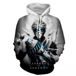 League of Legends Ezreal Prodigal Explorer 3D Artwear Hoodie - Superheroes Gears