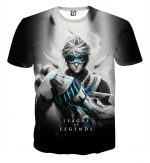League of Legends Ezreal Prodigal Explorer 3D Artwear T-shirt - Superheroes Gears