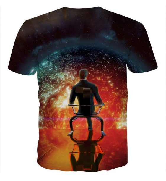 Mass Effect Illusive Man Cerberus Leader Game T-Shirt