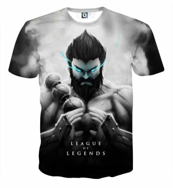 League of Legends Udyr Spirit Walker Stylish Printed T-shirt
