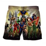 Justice League DC Superheroes All Characters Summer Shorts - Superheroes Gears