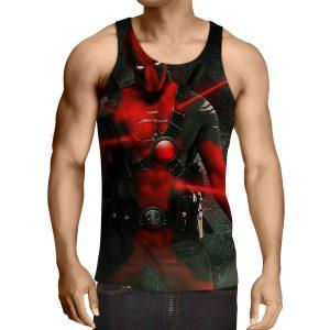 Antihero Deadpool Kills On Sight Dope Design Full Print Tank Top - Superheroes Gears