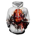 Deadpool Marvel Unique Style Fan Art Portrait Awesome Hoodie - Superheroes Gears