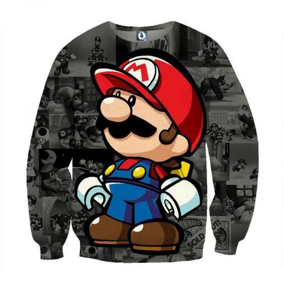 Super Mario Collab Lego Figure Cool Streetwear Sweatshirt