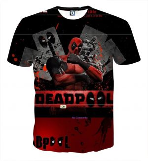 Deadpool The Winner Style Funny Design Full Print T-shirt - Superheroes Gears