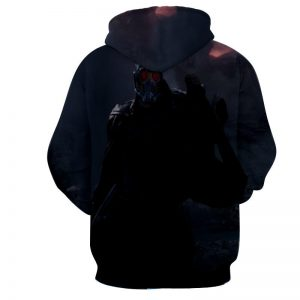 Guardians of the Galaxy Star-Lord Cool Posture Print Hoodie - Superheroes Gears