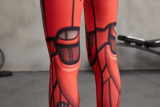 3D Design Iron Man Inspired Compression Women Workout Training Leggings - Superheroes Gears