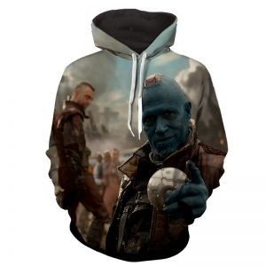 Guardians of the Galaxy Yondu Expert Archer Portrait Dope Hoodie - Superheroes Gears