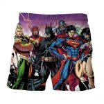 Justice League DC Comics Heroes Dope Team Cool Shorts - Superheroes Gears