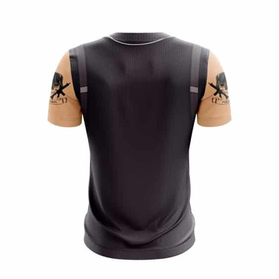 Fortnite Survival Rose Team Leader Outfit Cosplay T-shirt