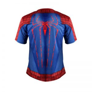 Amazing Spider Man Marvel Superhero Classic Gym Fitness  Costume T-shirt - Superheroes Gears