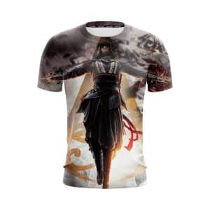 Assassin's Creed Aguilar Powerful Dark Aura Vibrant T-Shirt