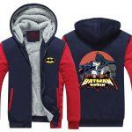 Batman And Robin Hot Kiss Love Scene Print Hooded Jacket - Superheroes Gears