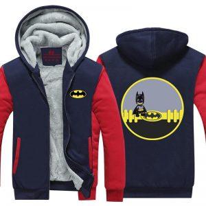 Batman Little Innocent Chibi Cute Character Hooded Jacket - Superheroes Gears