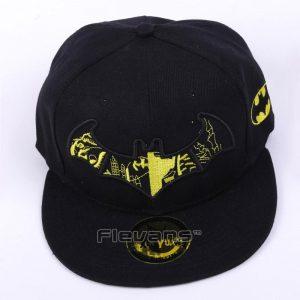 Batman Logo Fashionable Black Yellow Snapback Baseball Hat Cap - Superheroes Gears