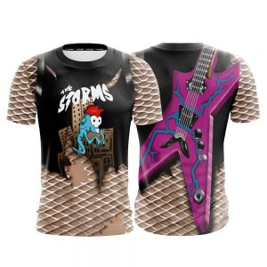 Fortnite Game Power Chord Skin The Storms Cosplay T-shirt - Superheroes Gears