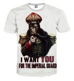 I Want You For The Imperial Guard Warhammer T-shirt - Superheroes Gears