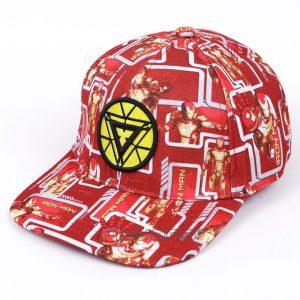 Iron Man Amazing Streetwear Bright Red Yellow Cool Snapback - Superheroes Gears
