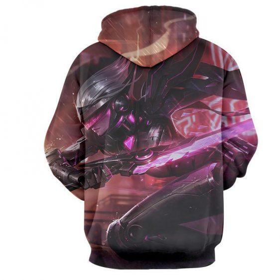 League of Legends Fiora The Heroic MOBA Champion Purple Hoodie - Superheroes Gears