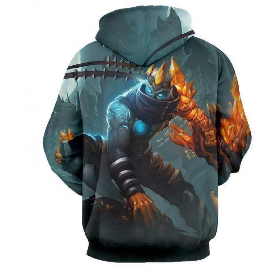 League of Legends Impressive Blight Crystal Varus Bow Comfy Hoodie