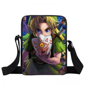 Legend of Zelda Link Wearing Mask Of Truth Cross Body Bag