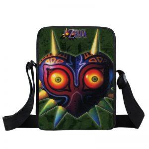 Legend of Zelda Majora's Mask Dark Green Cross Body Bag
