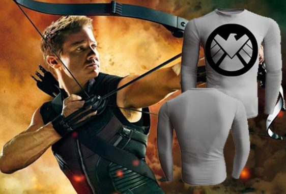 Marvel Agent of S.H.I.E.L.D Long Sleeves Compression T-shirt