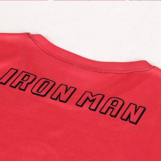 Marvel Iron Man Suit up Mark VII Cool Armor Workout 3D T-shirt