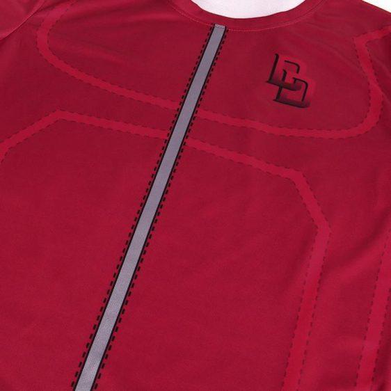 Marvel Superhero Daredevil Fashionable Dope Design Fitness T-shirt