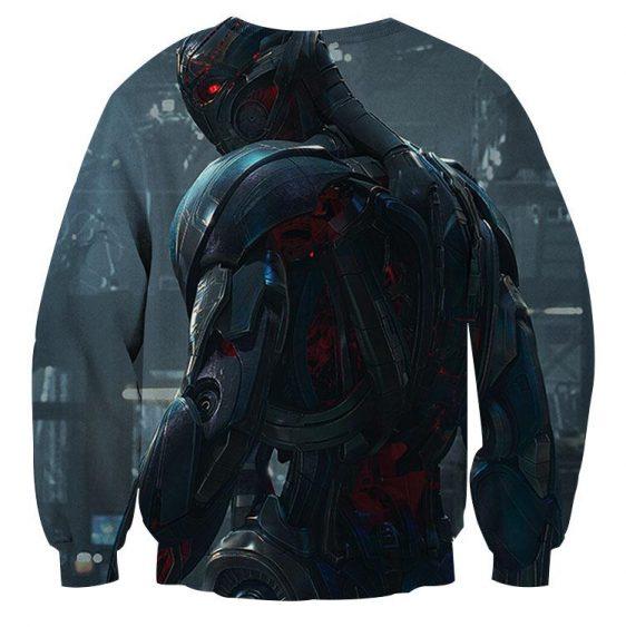 Marvel The Avengers Lonely Ultron Stylish Print Sweatshirt