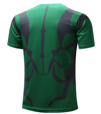 Marvel The Incredible Hulk Superhero Modern Design Workout T-shirt