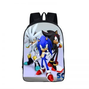 Sonic Silver Shadow The Hedgehog Epic Backpack Bag