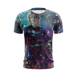 Star Wars Darth Monroe Cool Abstract Fan Art Design T-Shirt