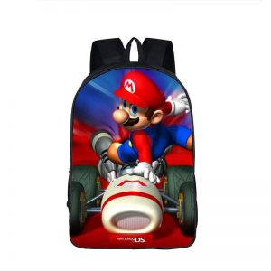 Super Mario Kart Racing Turbo Boost Backpack Bag