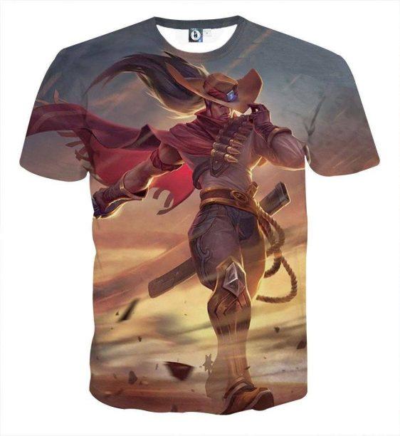 League of Legends High Noon Yasuo The Swordsman Pastel T-Shirt