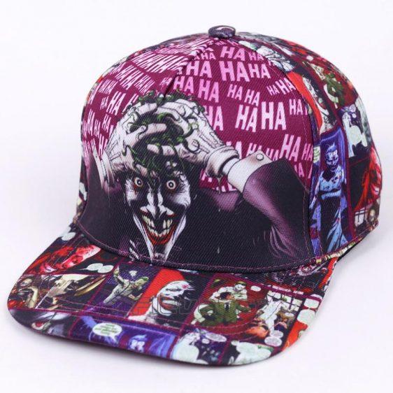 The Joker Swag Funky Hip Hop Snapback Baseball Hat Cap